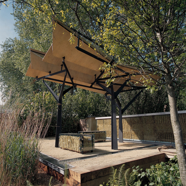 Sarah-Wigglesworth-Architects Chelsea-Flower-Show-Pavilion Overall Pavilion 1800