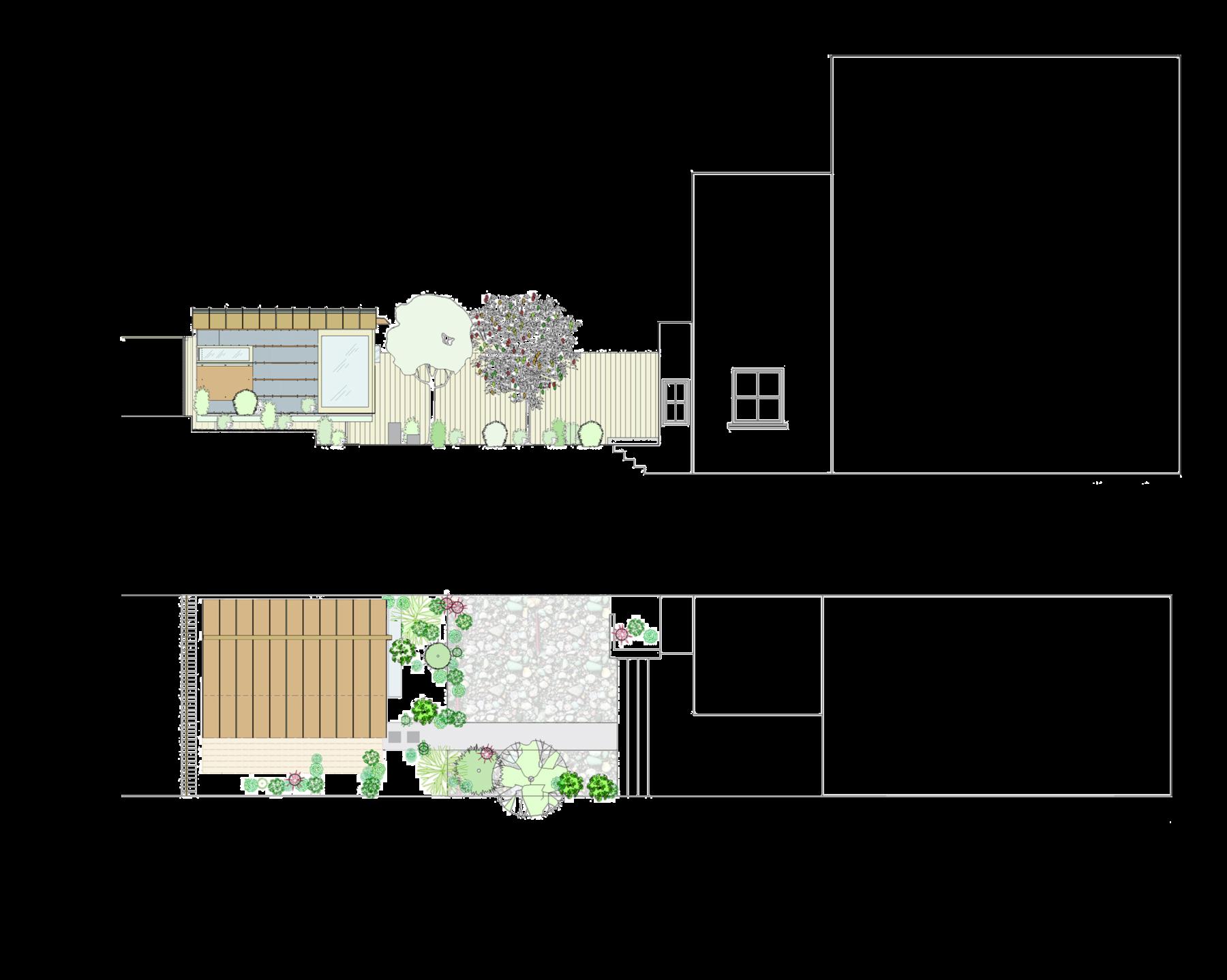 Sarah-Wigglesworth-Architects Garden Studio drawing 3600