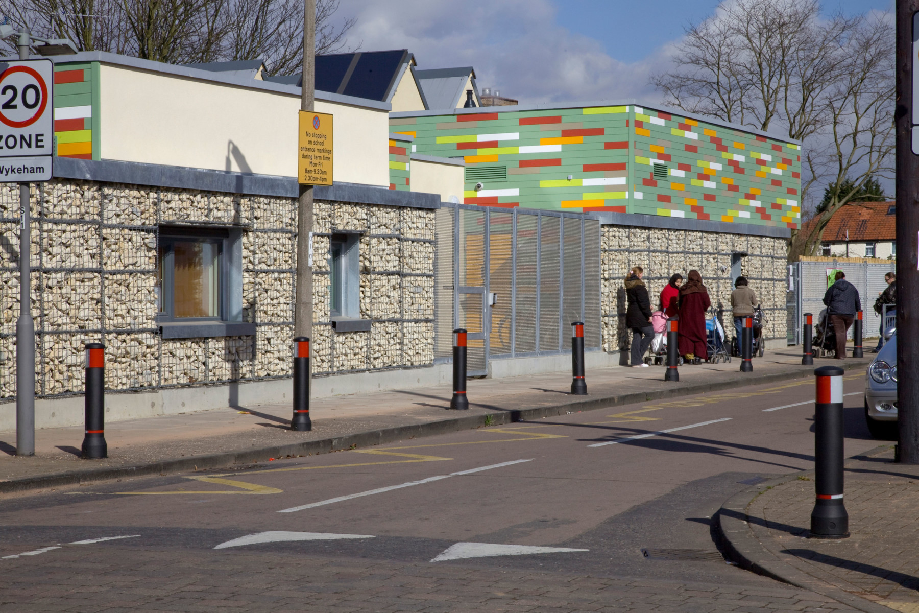 Sarah-Wigglesworth-Architects Heathfield External Street View 3600