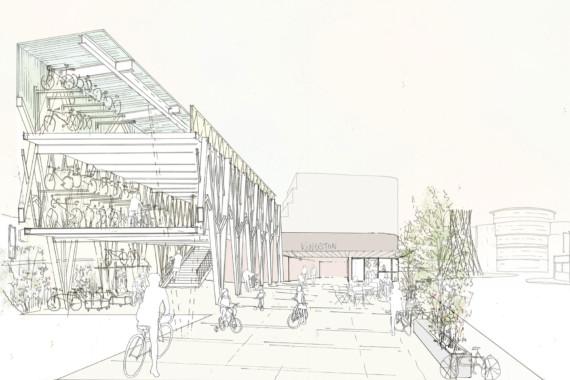 Sarah-Wigglesworth-Architects Kingston-Mini-Holland  Sketch CoverThumbnail  1800