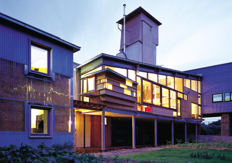 Sarah-Wigglesworth-Architects Stock Orchard twilight 3600 cropped