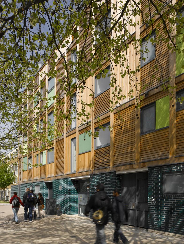 Sarah-Wigglesworth-Architects Wardroper Southwark Streetscene 1800