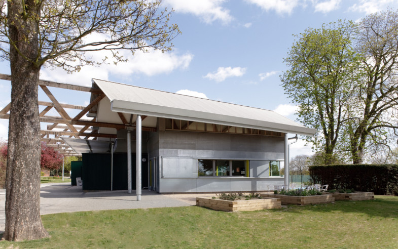 Sarah Wigglesworth Architects Ray Park Visitors Centre Front 3600