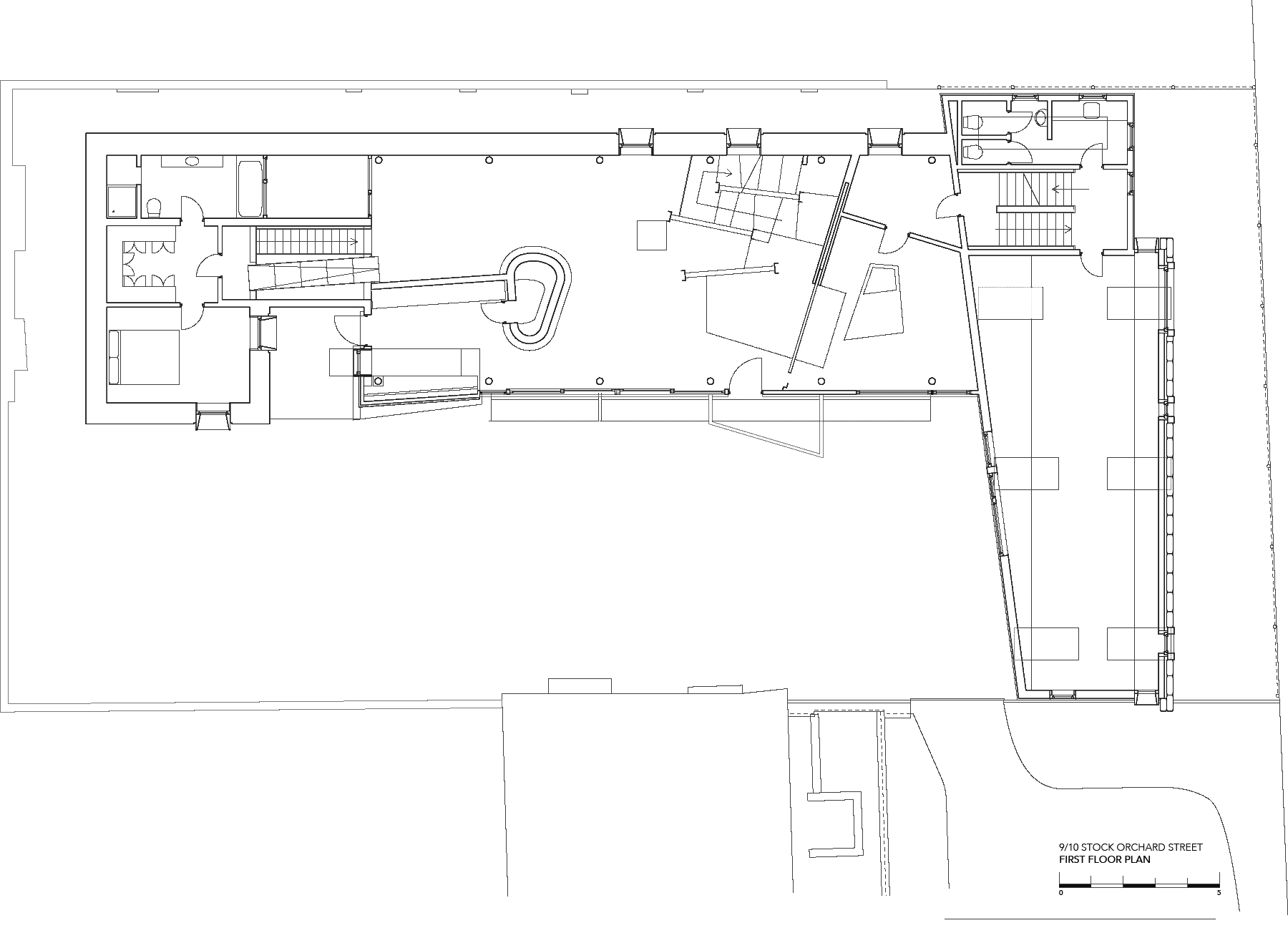 Sarah-Wigglesworth-Architects Stock-Orchard-Street first-floor-plan 1800