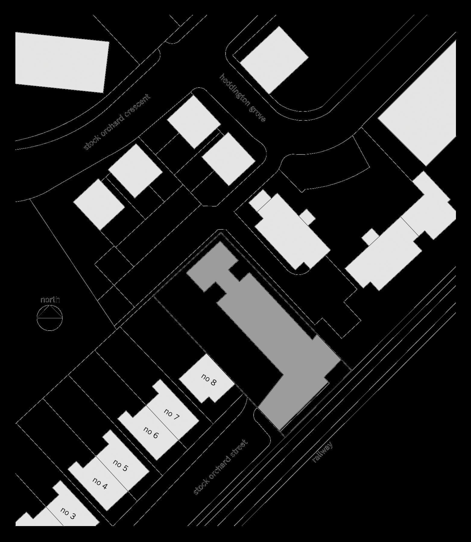 Sarah-Wigglesworth-Architects Stock-Orchard-Street site-plan 1800