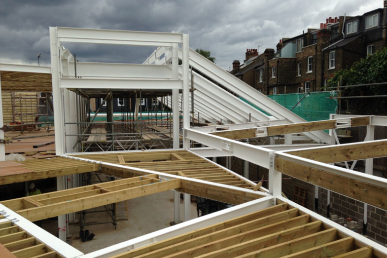 Sarah-Wigglesworth-Architects Highbury-Roundhouse-Site-Visit feature 1800