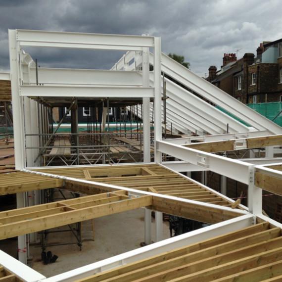 Sarah-Wigglesworth-Architects Highbury-Roundhouse-Site-Visit sqaure