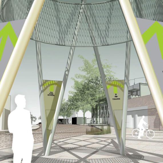 Sarah-Wigglesworth-Architects Kingston-Mini-Holland NLA-Conference sqaure