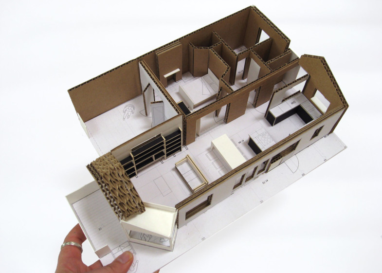 Sarah-Wigglesworth-Architects Station-Cottages Model 1800