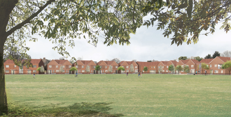 Sarah-Wigglesworth-Architects St-Georges-Field-Site-view 3600