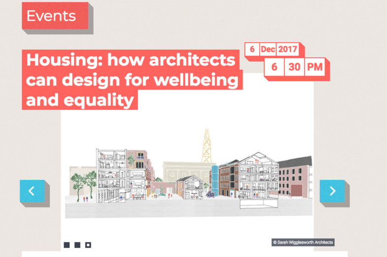 Sarah-Wigglesworth-Architects Wellbeing-event