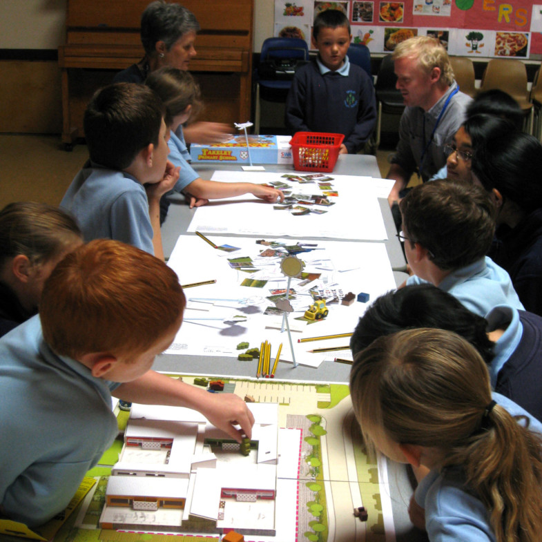 Sarah-Wigglesworth-Architects Takeley-Primary-School pupil-consultation 1800