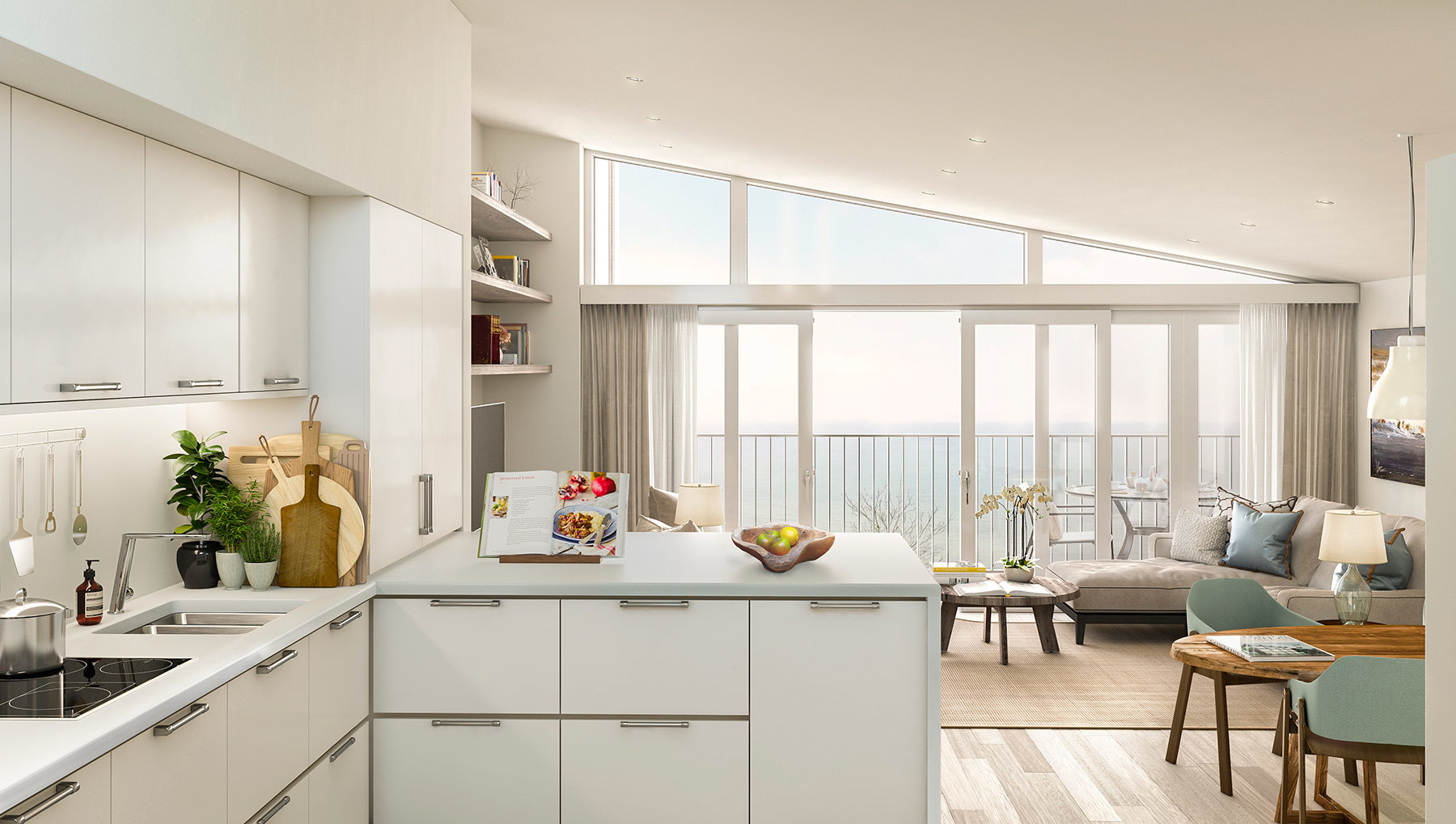 Sarah-Wigglesworth-Architects Shell-Cove-OC Kitchen 1800