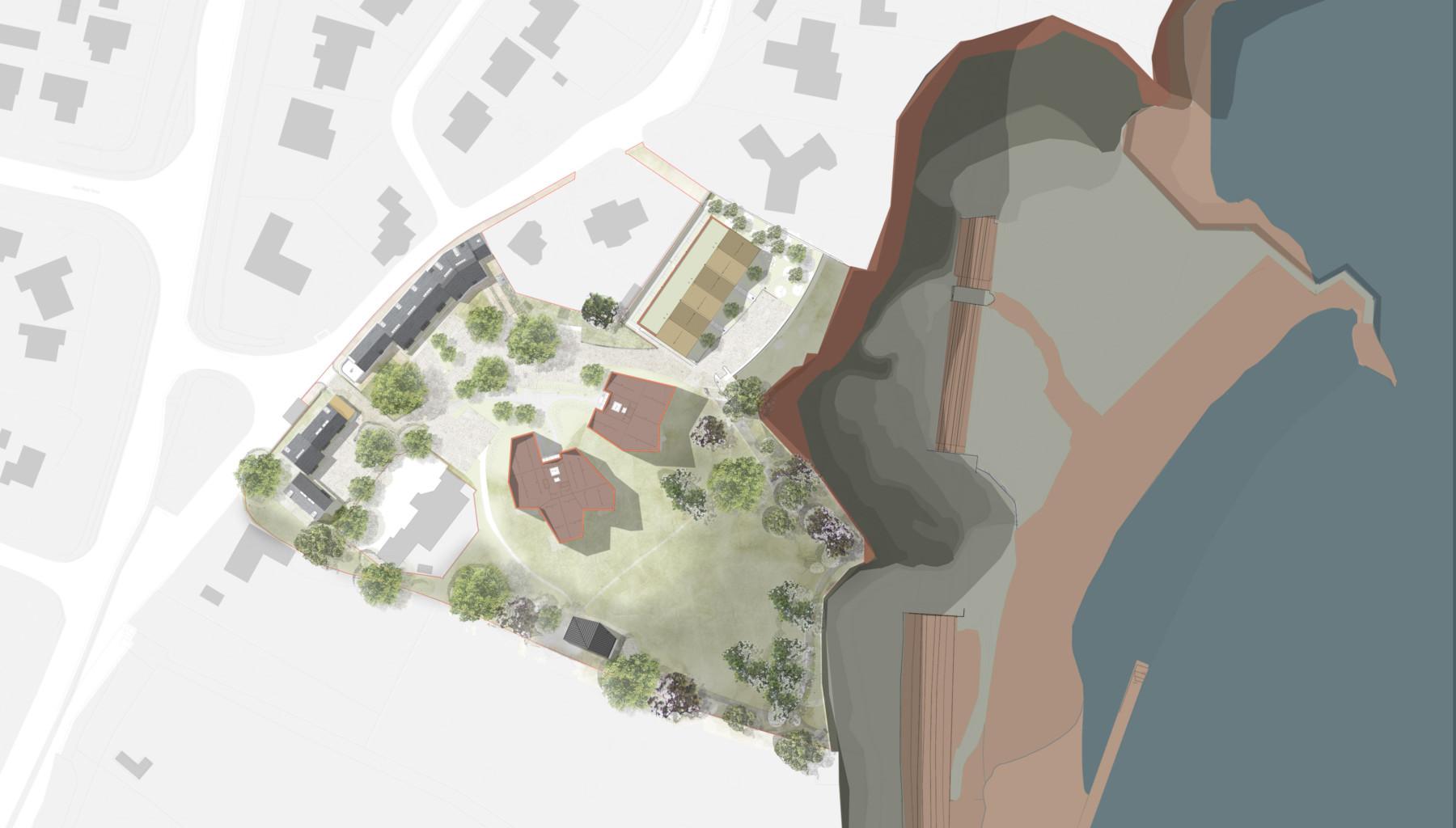 Sarah-Wigglesworth-Architects Shell-Cove Site Plan 3600