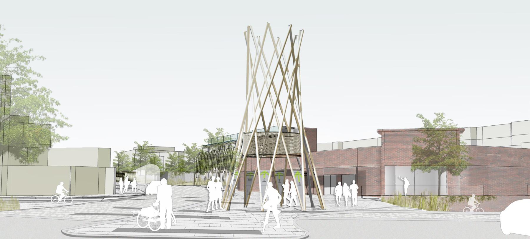 Sarah-Wigglesworth-Architects Kingston-Mini-Holland Beacon 1 Overall 3600