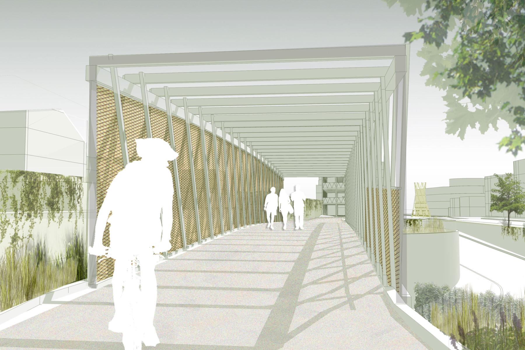 Sarah-Wigglesworth-Architects Kingston-Mini-Holland Bridge 4 Streetview 3600