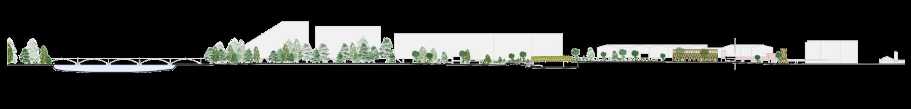 Sarah-Wigglesworth-Architects Kingston-Mini-Holland Context LongSection 3600