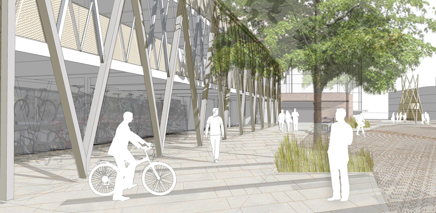 Sarah-Wigglesworth-Architects Kingston-Mini-Holland Hub 1 Main 3600