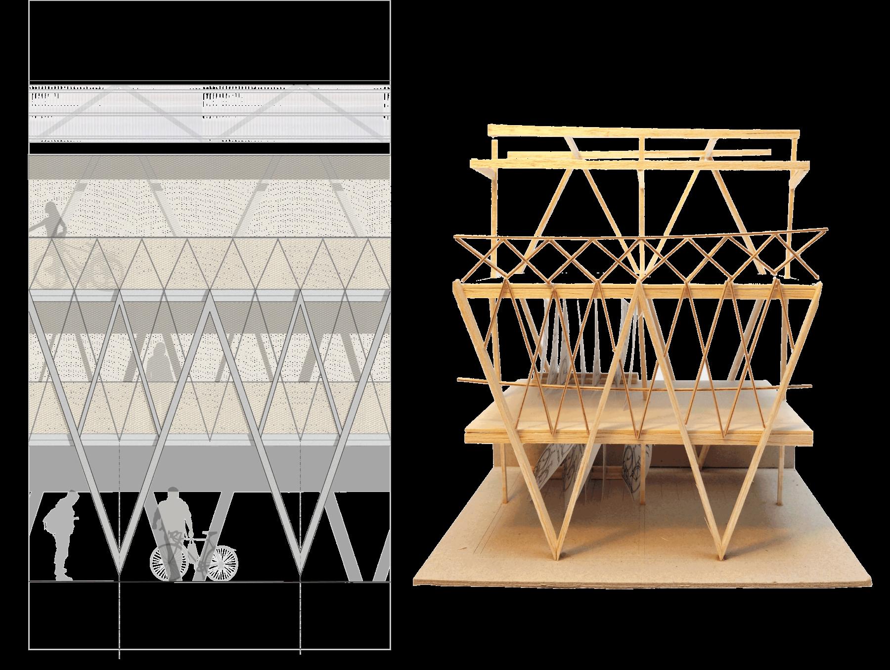 Sarah-Wigglesworth-Architects Kingston-Mini-Holland Hub 4 Model 3600