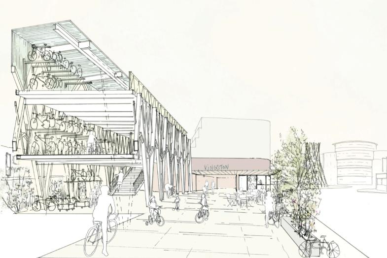 Sarah-Wigglesworth-Architects Kingston-Mini-Holland  Sketch Cover  3600