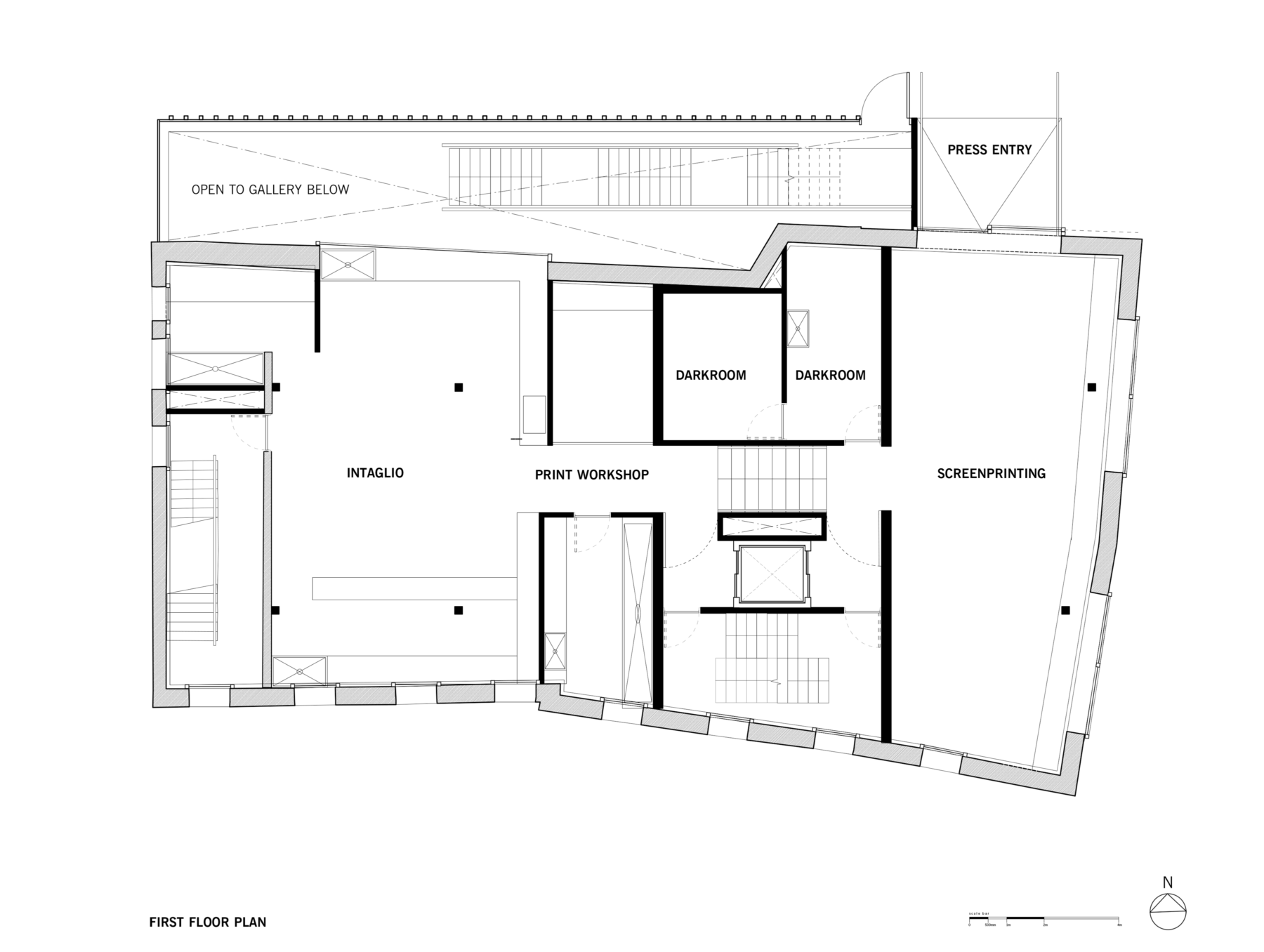 Sarah-Wigglesworth-Architects Swansea-Print-Works Drawing Plan 3600
