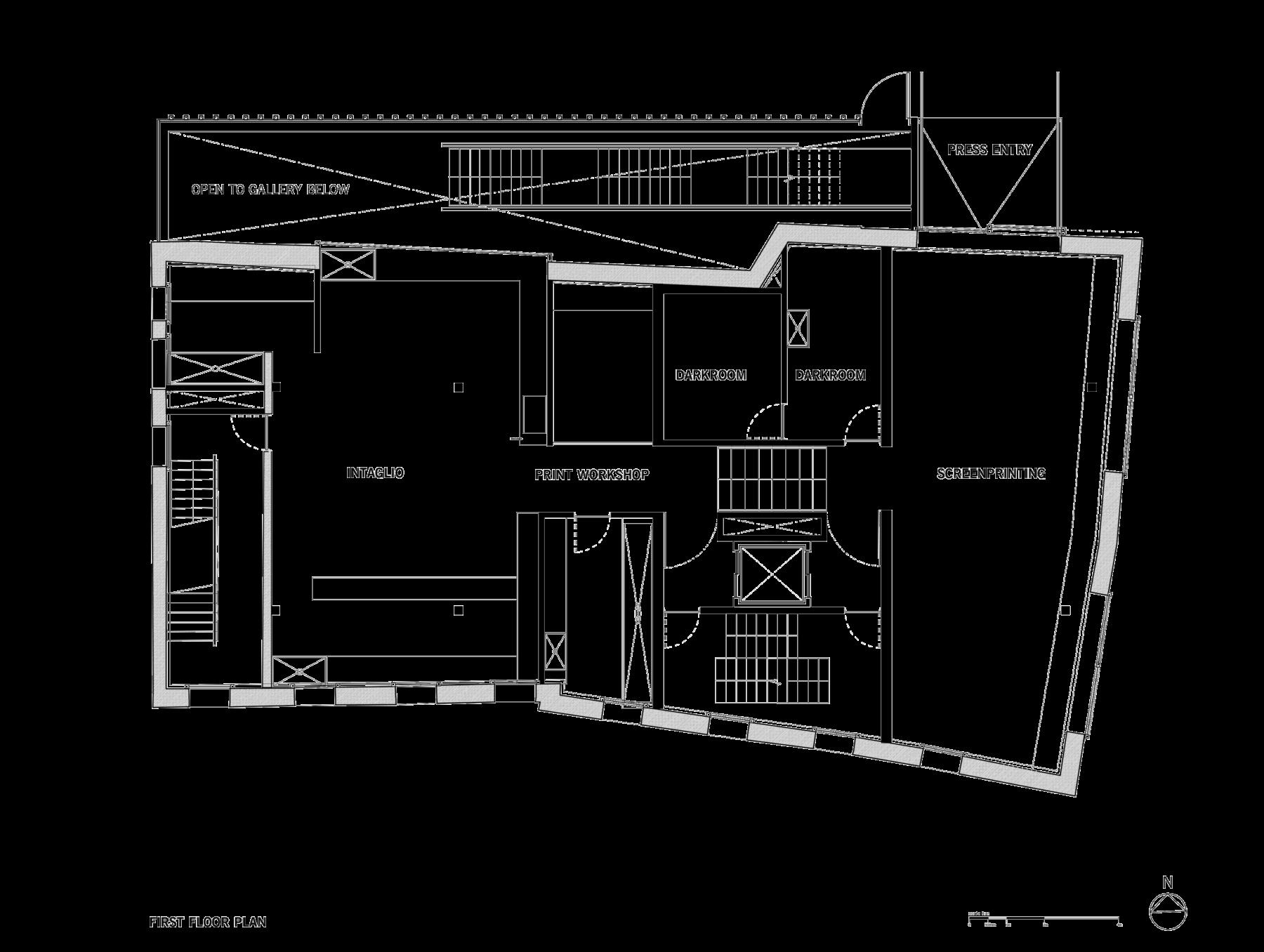 Sarah-Wigglesworth-Architects Swansea-Print-Works Drawing Plan 3600