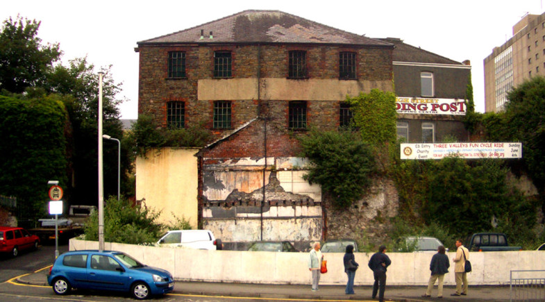 Sarah-Wigglesworth-Architects Swansea-Print-Works Site-Photo Cover 3600