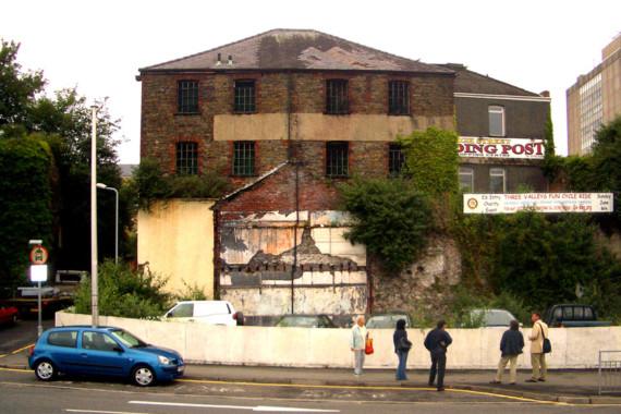 Sarah-Wigglesworth-Architects Swansea-Print-Works Site-Photo Thumbnail 1800