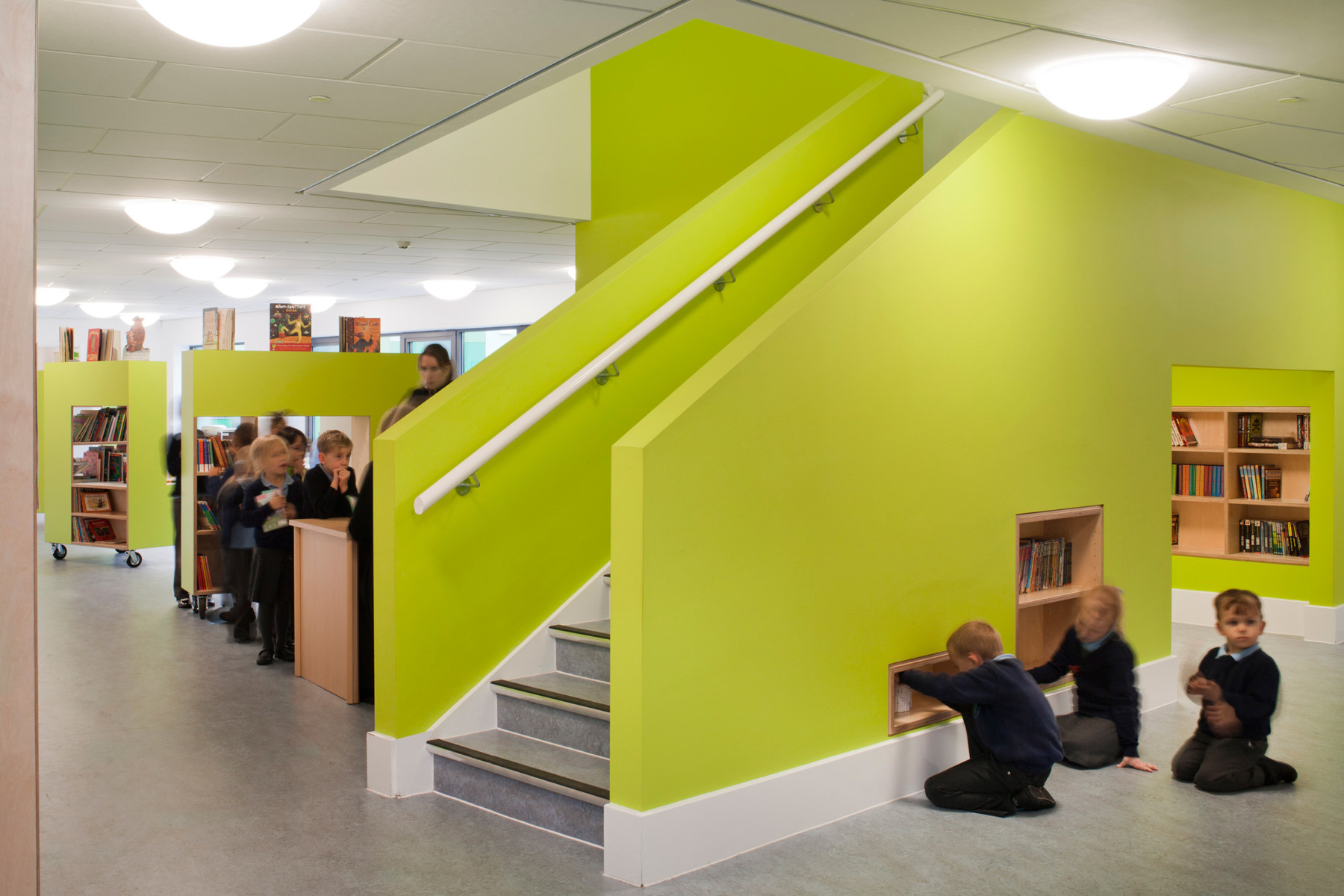 Sarah-Wigglesworth-Architects Takeley-Primary-School Library 1800