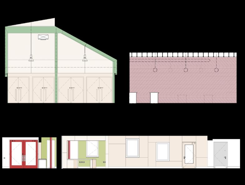 Sarah Wigglesworth Architects Highbury Roundhouse Layouts