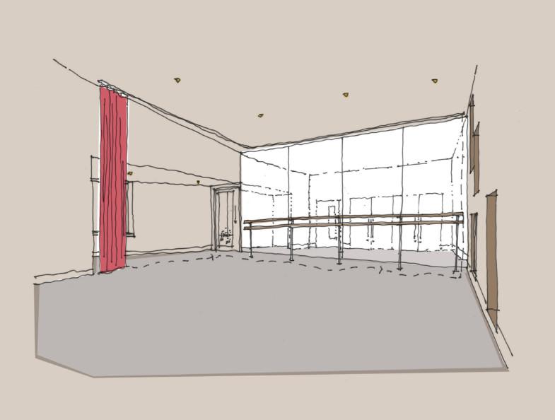 Sarah Wigglesworth Architects Highbury Roundhouse Studio 2