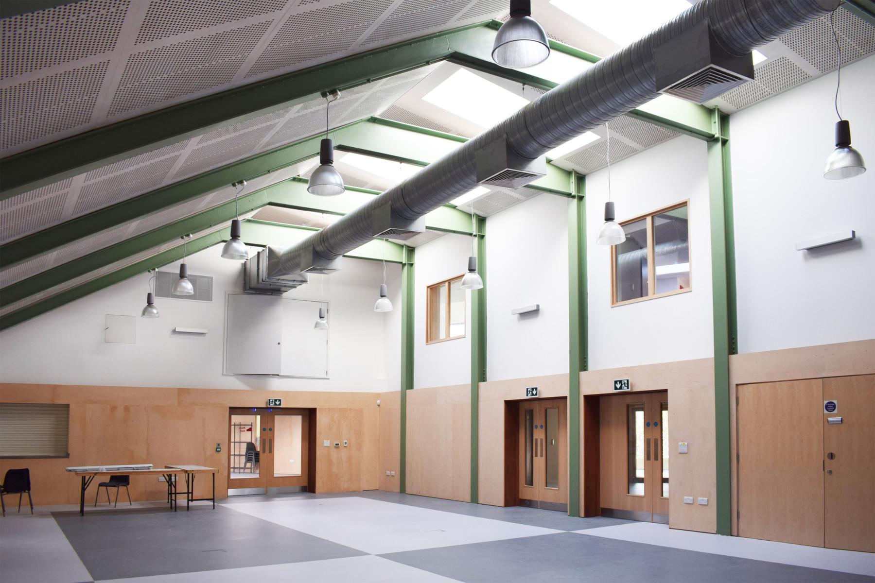 Sarah Wiggelsworth Architects Main Hall Image