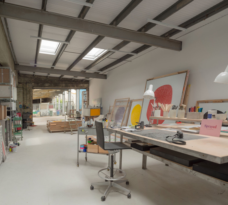 Sarah-Wigglesworth-Architects Brickfield-Studios Interior-1