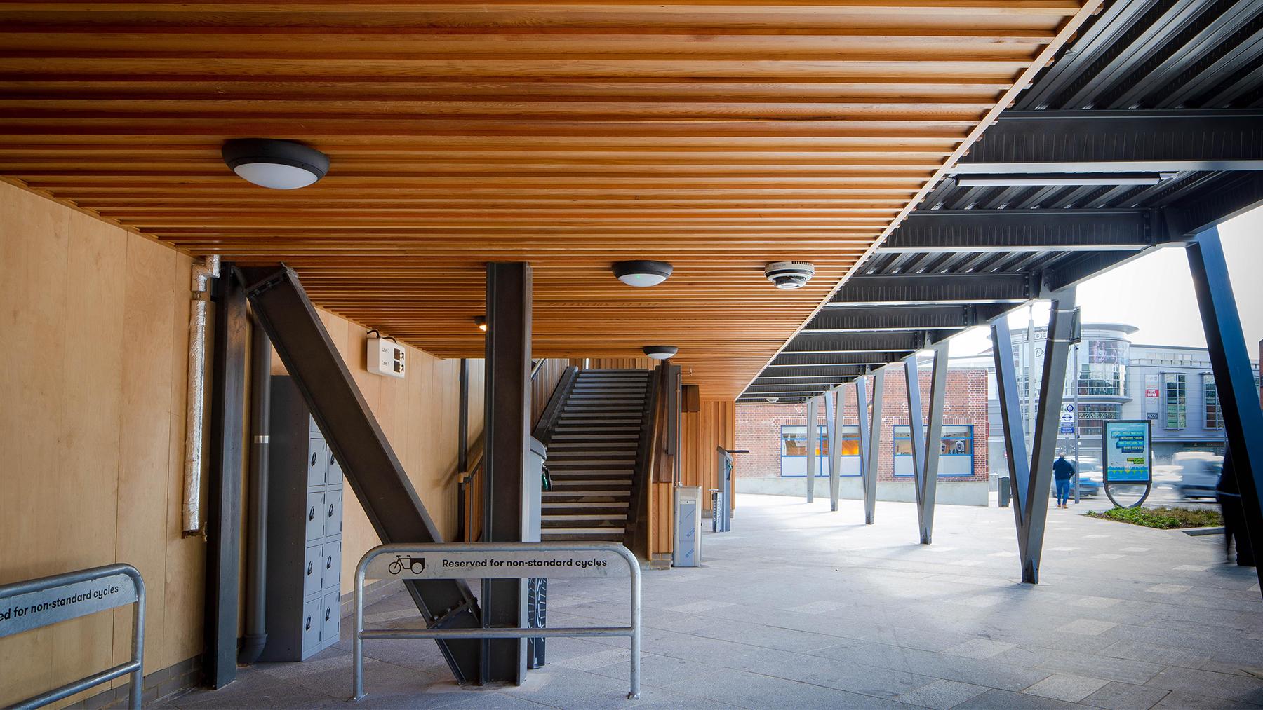 Sarah-Wigglesworth-Architects Kingston-Go-Cycle Hub Ground Floor  1800x1013