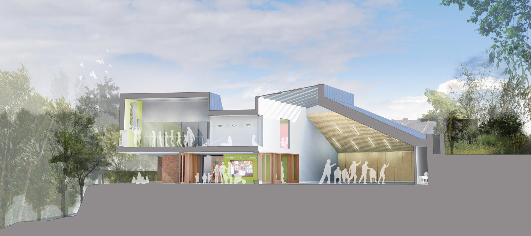 Sarah Wigglesworth Architects Section