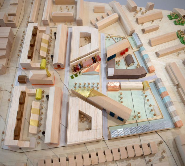 Sarah-Wigglesworth-Architects Unlocking-Pentonville Model-Photo