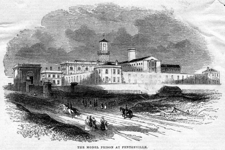 Sarah-Wigglesworth-Architects Unlocking-Pentonville The-model-prison-at-pentonville-1842 Islington-local-history-centre 1800