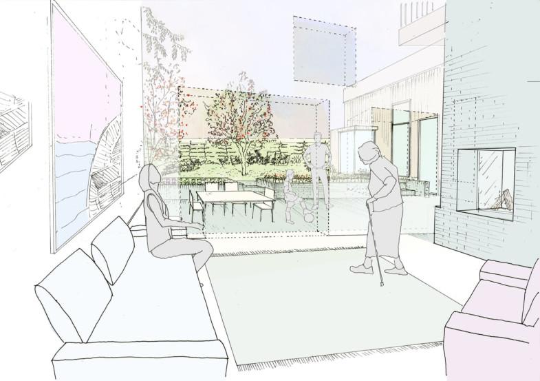 Sarah-Wigglesworth-Architects LivingRoomView 1800