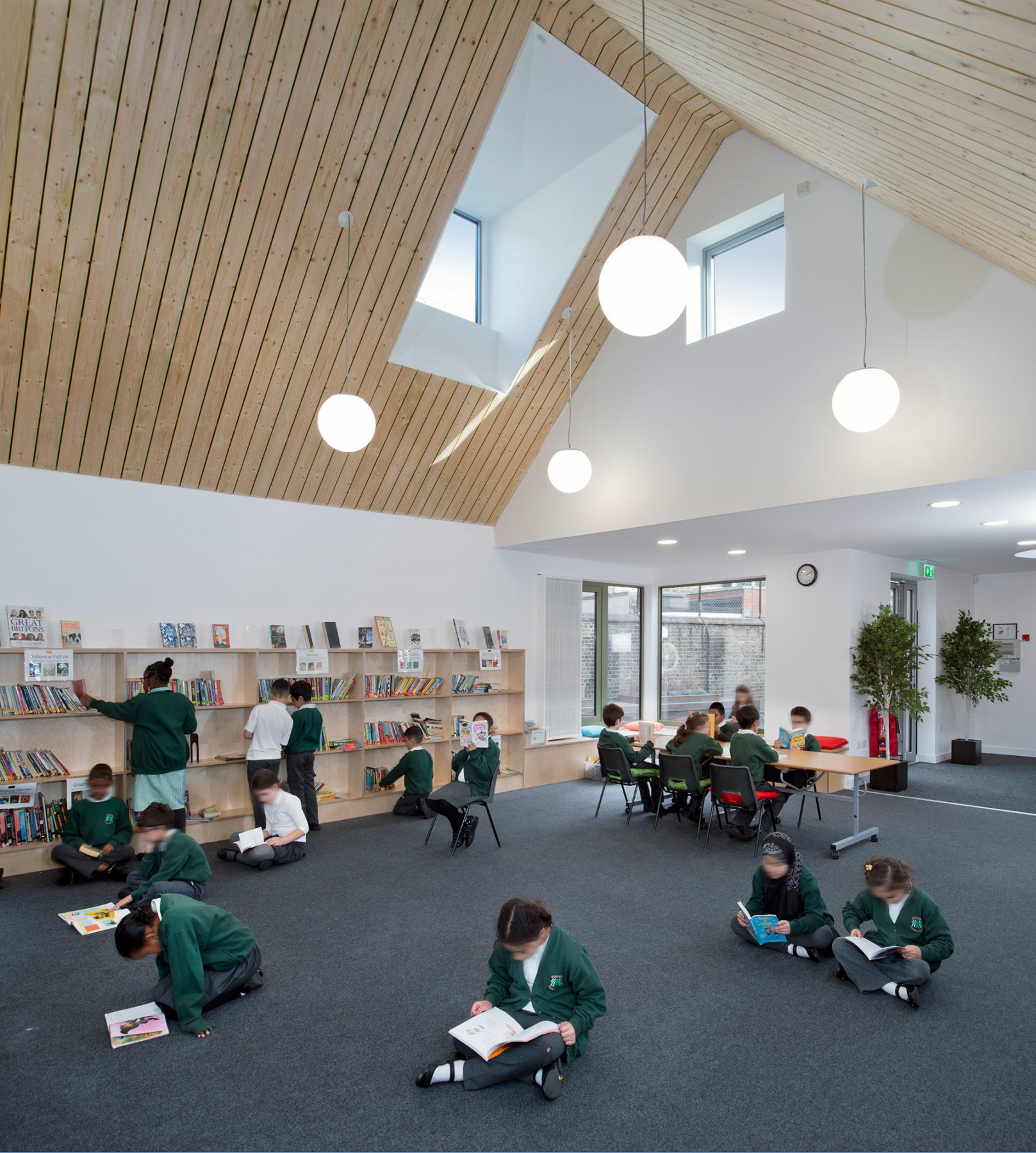Sarah-Wigglesworth-Architects Kingsgate School Library 1800
