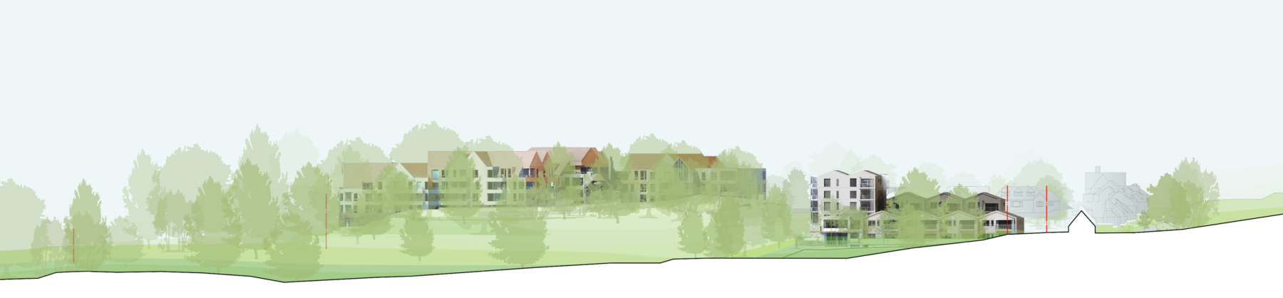 Sarah-Wigglesworth-Architects Sidmouth-Later-Living Plateau-Elevation 3600