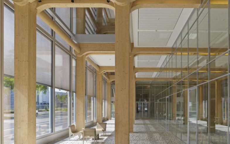 The Zurich headquarters of Swiss media company Tamedia - Shigeru Ban 1800