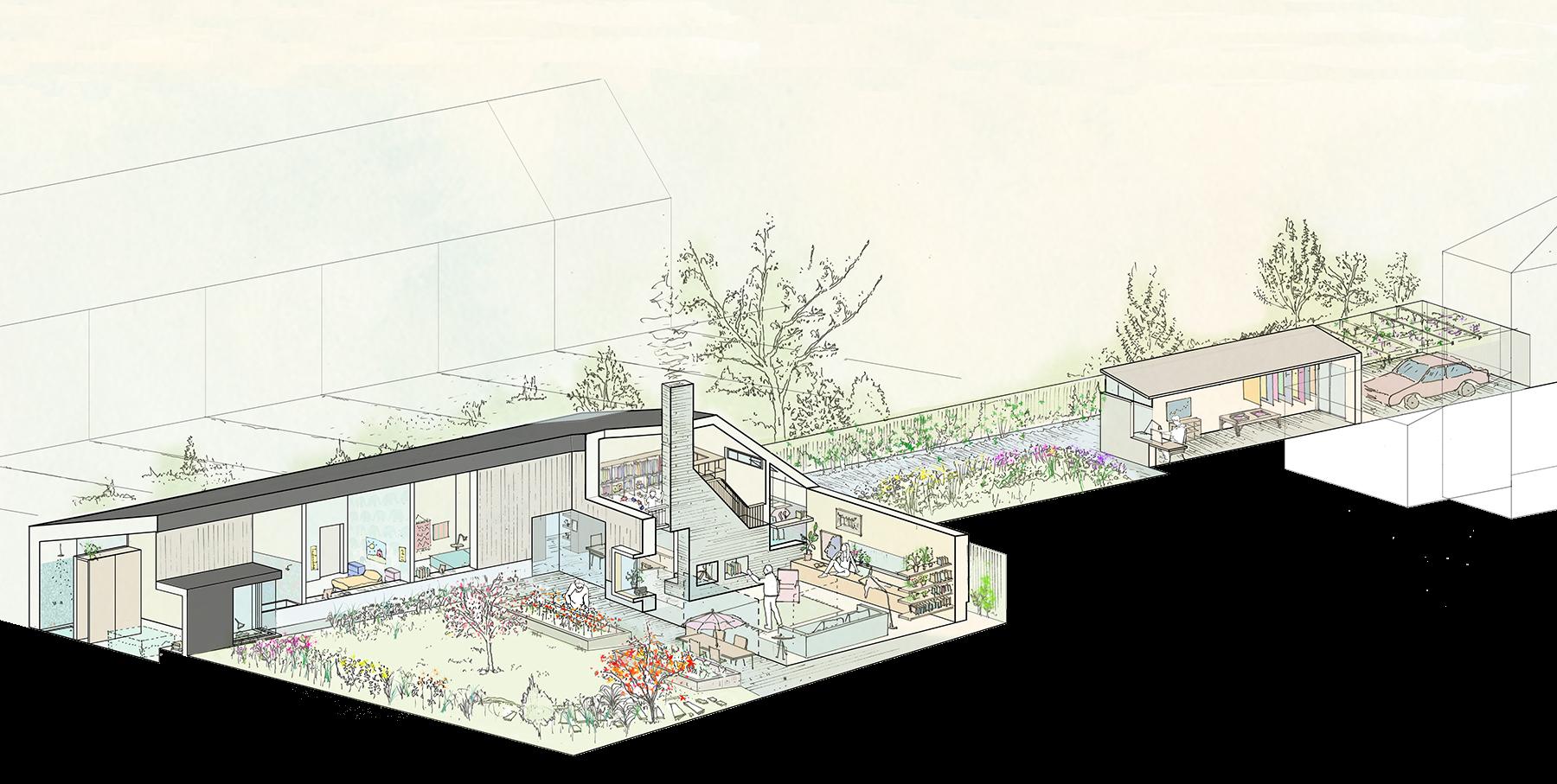 Sarah-Wigglesworth-Architects Haycroft-Gardens Overview-Year-5 1800