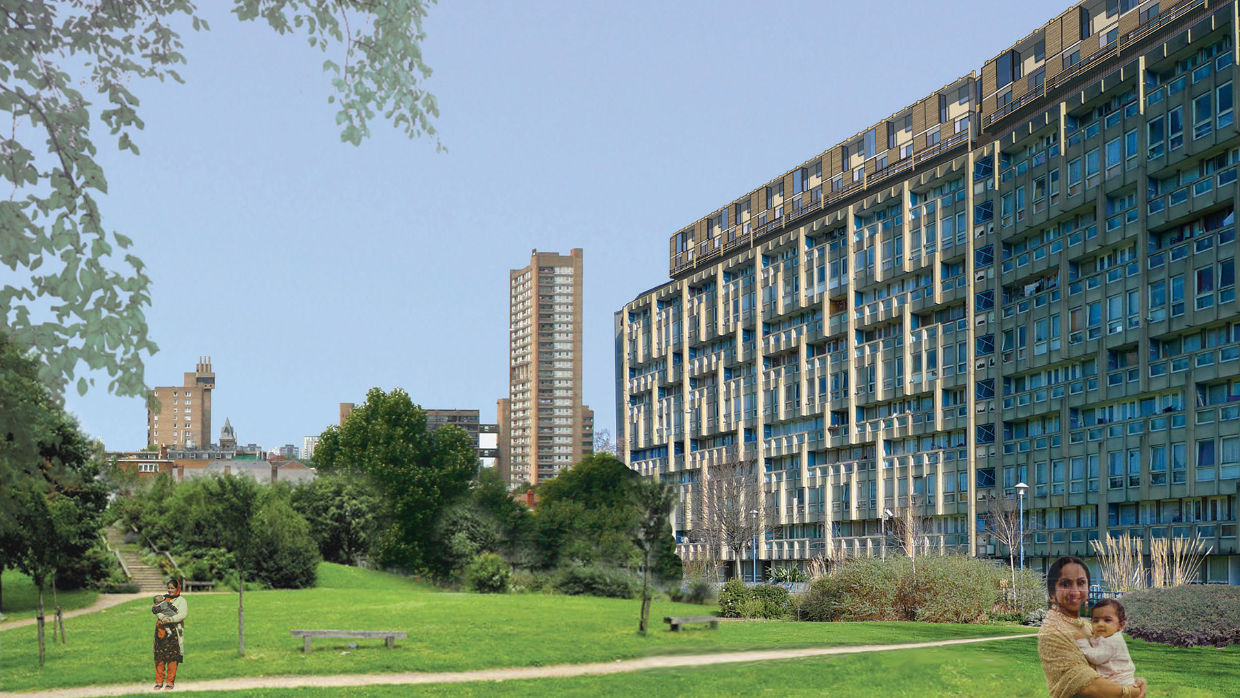 Sarah-Wigglesworth-Architects Robin-Hood-Gardens-Retrospective Economic-Sustainability 1800