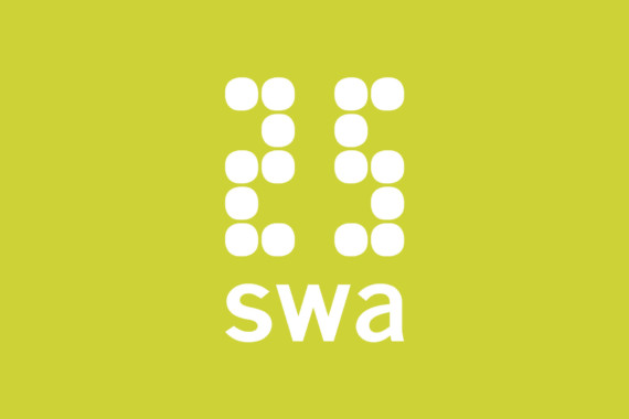 Sarah-Wigglesworth-Architects SWA25 Feature Logo-Green 1800