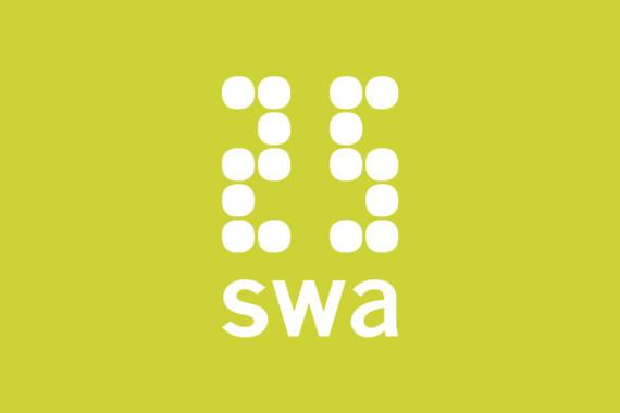 Sarah-Wigglesworth-Architects SWA25 Feature Logo-Green 1800