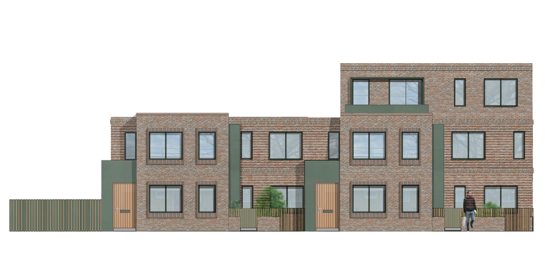 Sarah-Wigglesworth-Architects Queens-Road Front-Elevation 1800x3600