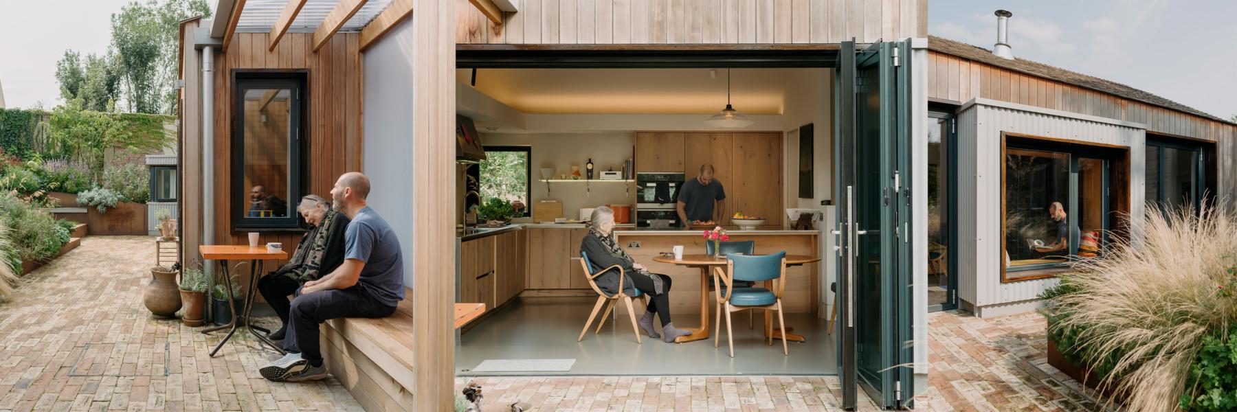 Sarah-Wigglesworth-Architects Sustainable Housing Haycroft Gardens