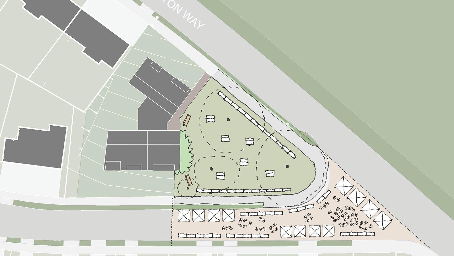 Sarah Wigglesworth Architects Covington Court Slideshow Public Use Sketch 8