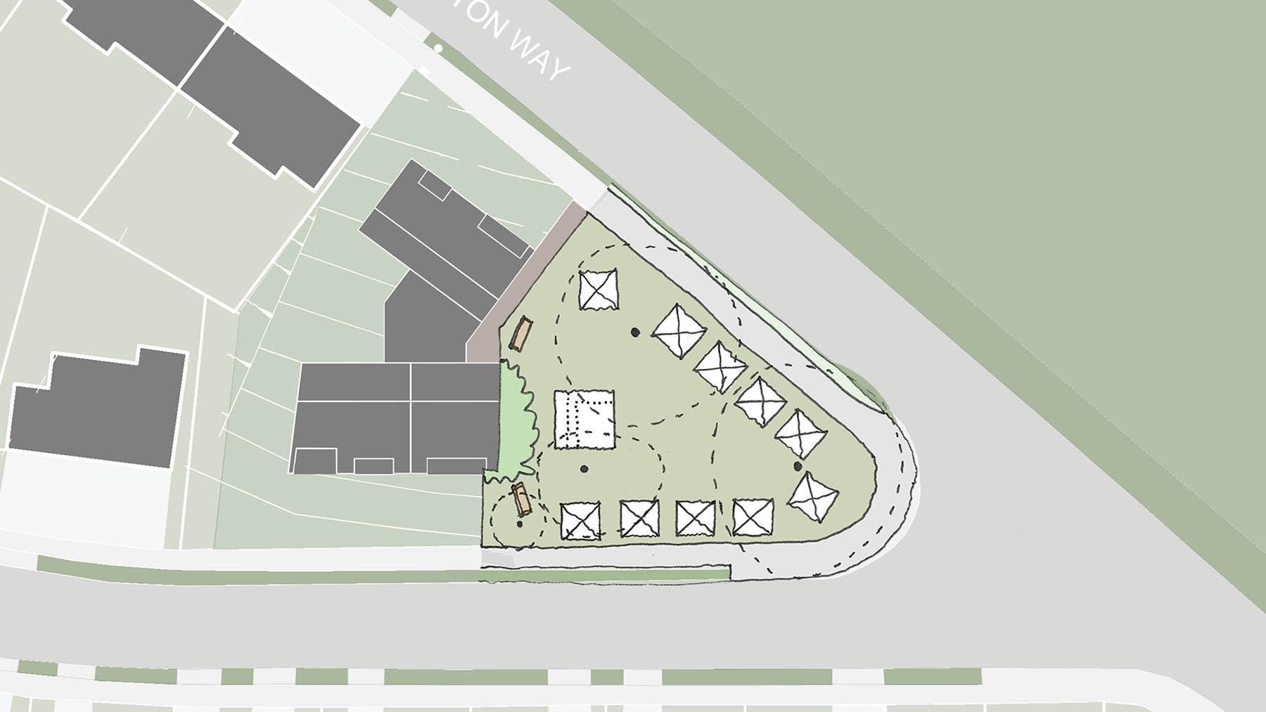 Sarah Wigglesworth Architects Covington Court Slideshow Public Use Sketch 9