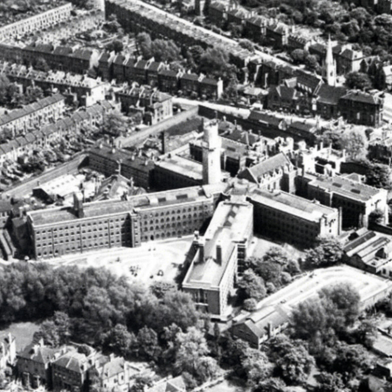 1. holloway aerial of old prison 1800 sq